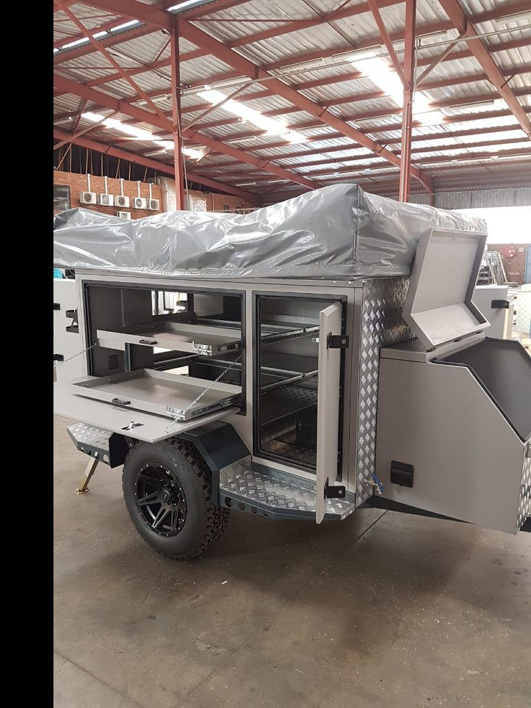 Camp Trailer Storage Space