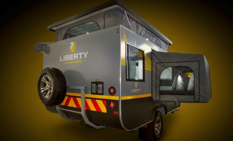 Liberty LC4 Off-Road Caravan